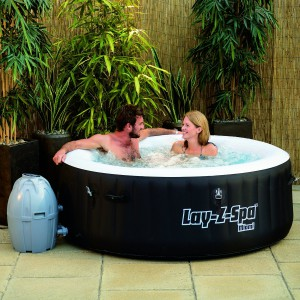 Lay-Z-Spa Miami Inflatable Hot Tub Size