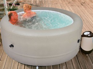 Rio Grande Inflatable Hot Tub Size