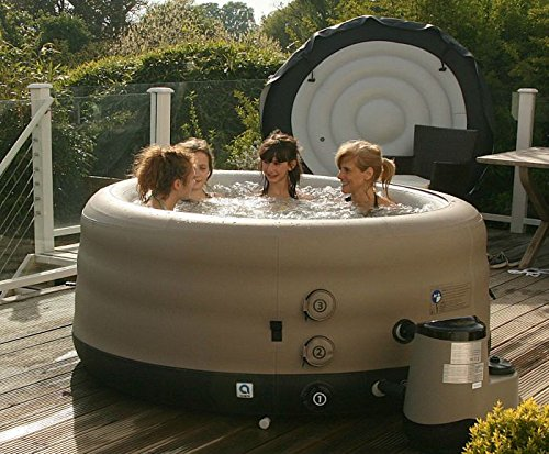 laze tub jet bubble massage review siena saluspa reviews system inflatable up hot airjet