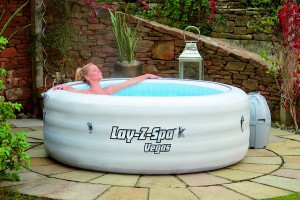 Lay-Z-Spa Vegas Inflatable Hot Tub