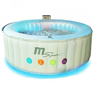 MSPA Glow Inflatable Hot Tub