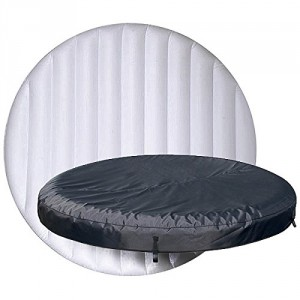 Lay Z Spa Miami Top Inflatable Lid and Fabric Cover