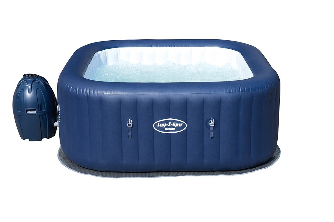 Lay z spa hawaii inflatable hot tub review inflatable for Most comfortable tub reviews