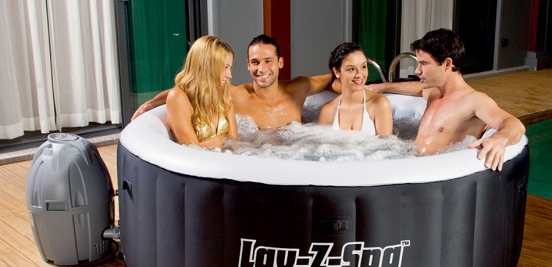 Indoor Inflatable Hot Tub